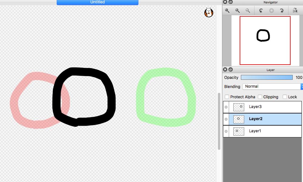 Diagram: Show in Onion Skin Mode