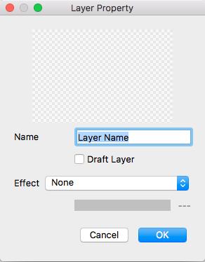 Diagram: Layer Property window