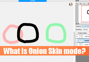 What is Onion Skin mode?