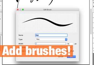 Add brushes!