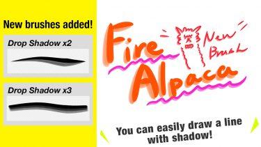 Brush : Drop Shadow x2, Drop Shadow x3