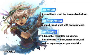 Brush : dp-round, dp-fade round, dp-foliage