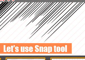 Let's use Snap tool
