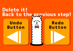 Delete it! Back to the previous step! [Tutorial 6]