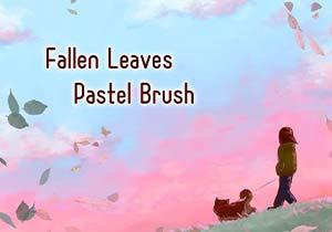 Brush :Fallen Leaves,Pastel Brush
